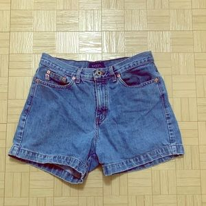 GUESS Vintage High Waist Shorts Size 30